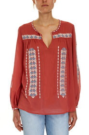 FREEDOM EMBROIDERED BLOUSE