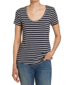 PERFECT PRINT STRIPE TEE