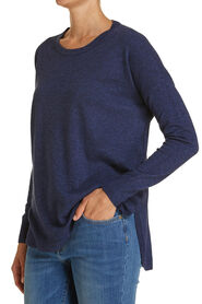 Curved Hem Knit