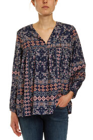 Filigree Print Blouse
