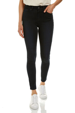 THE ROSIE HIGH RISE SKINNY ANKLE GRAZER