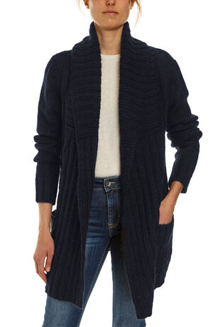 Anya Cable Knit Coatigan
