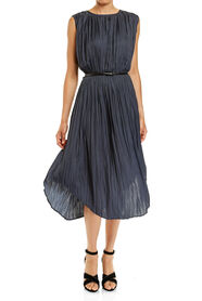 LILY PLEATED DRESS
