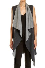 Chloe Sleeveless Drape Knit