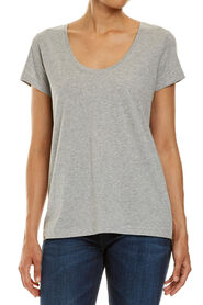 ELLIE SCOOP NECK TEE