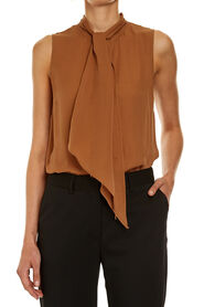 CASSIE SLEEVELESS BLOUSE