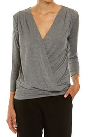 GINA PLEATED TOP