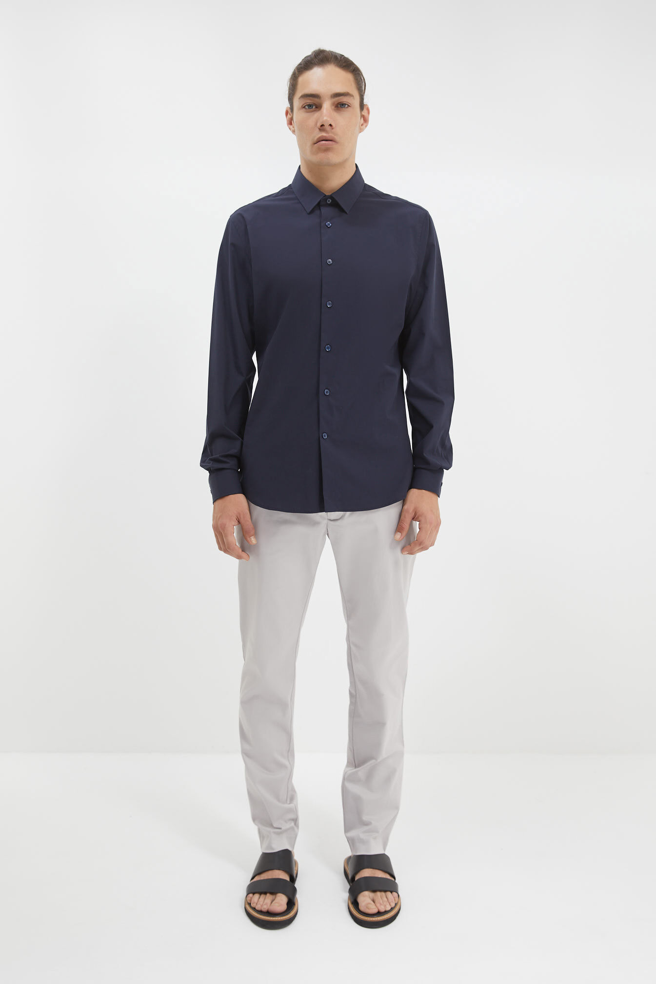 saba stretch poplin shirtnavyxxl