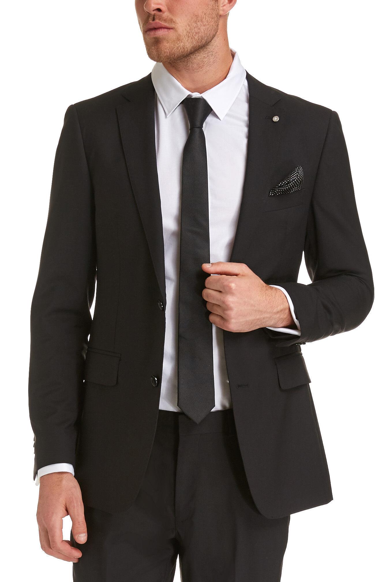 saba contemporary suit jacketblack42