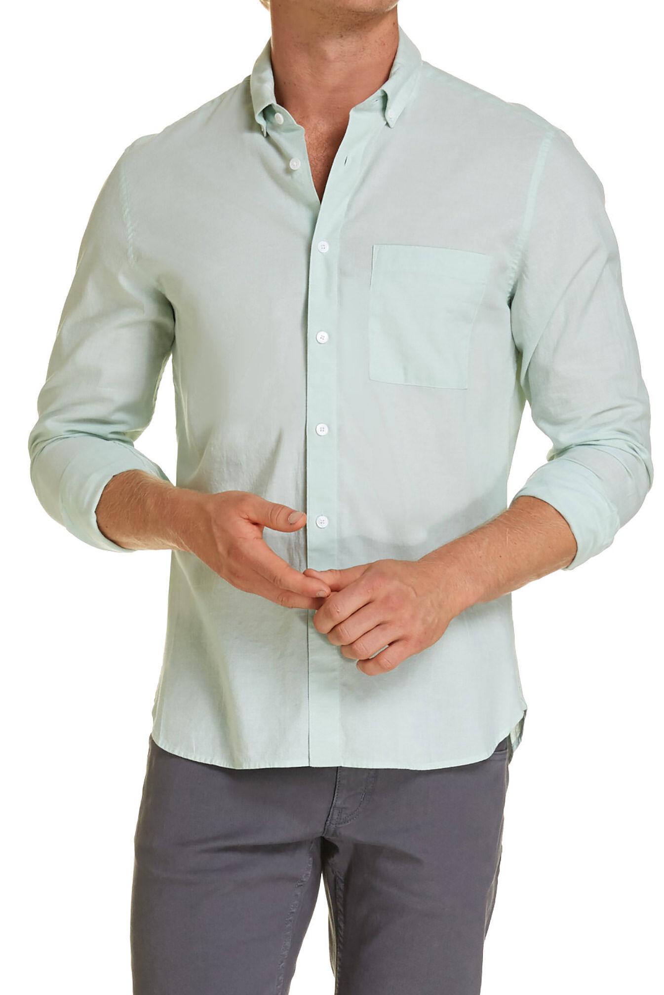 saba fleming melange shirtlightgreenxxl