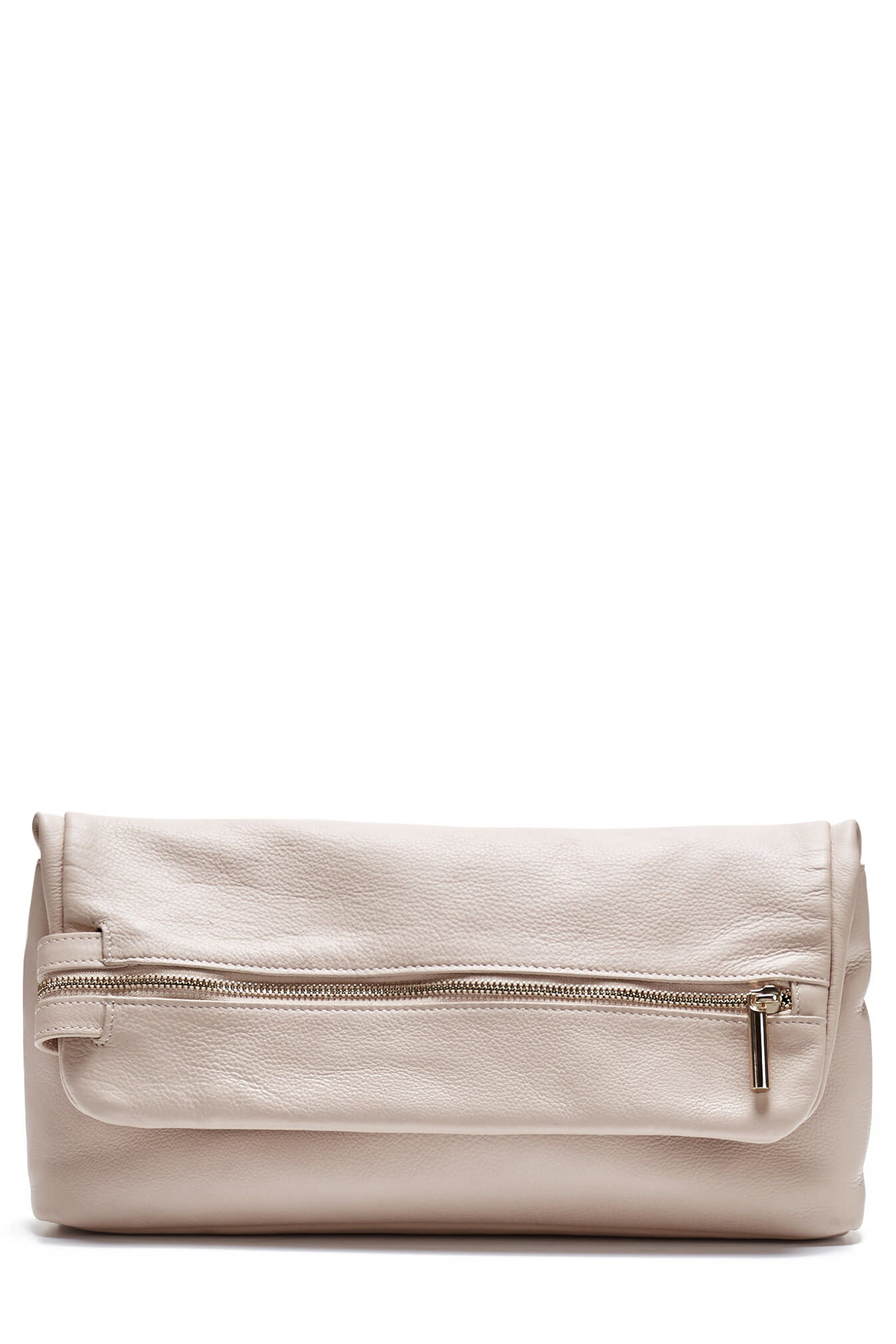 saba female frankie oversized clutch nudeonesize
