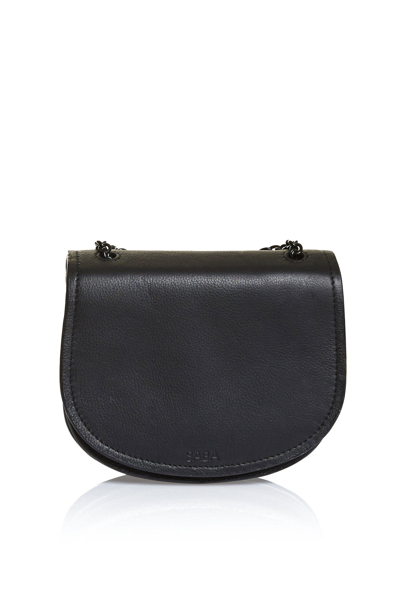 saba holly mini saddle bagblackonesize