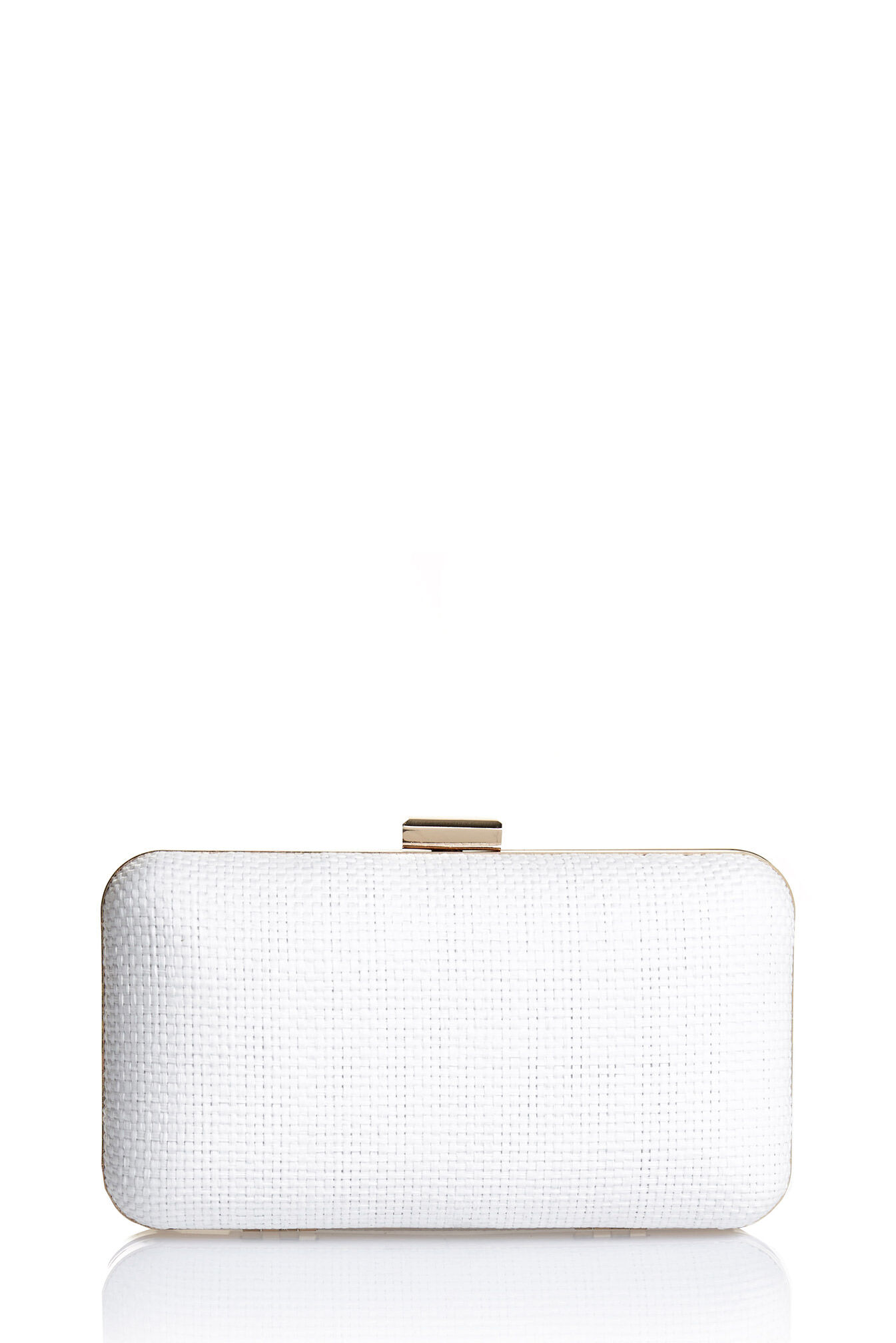 saba female mae box clutch whiteonesize