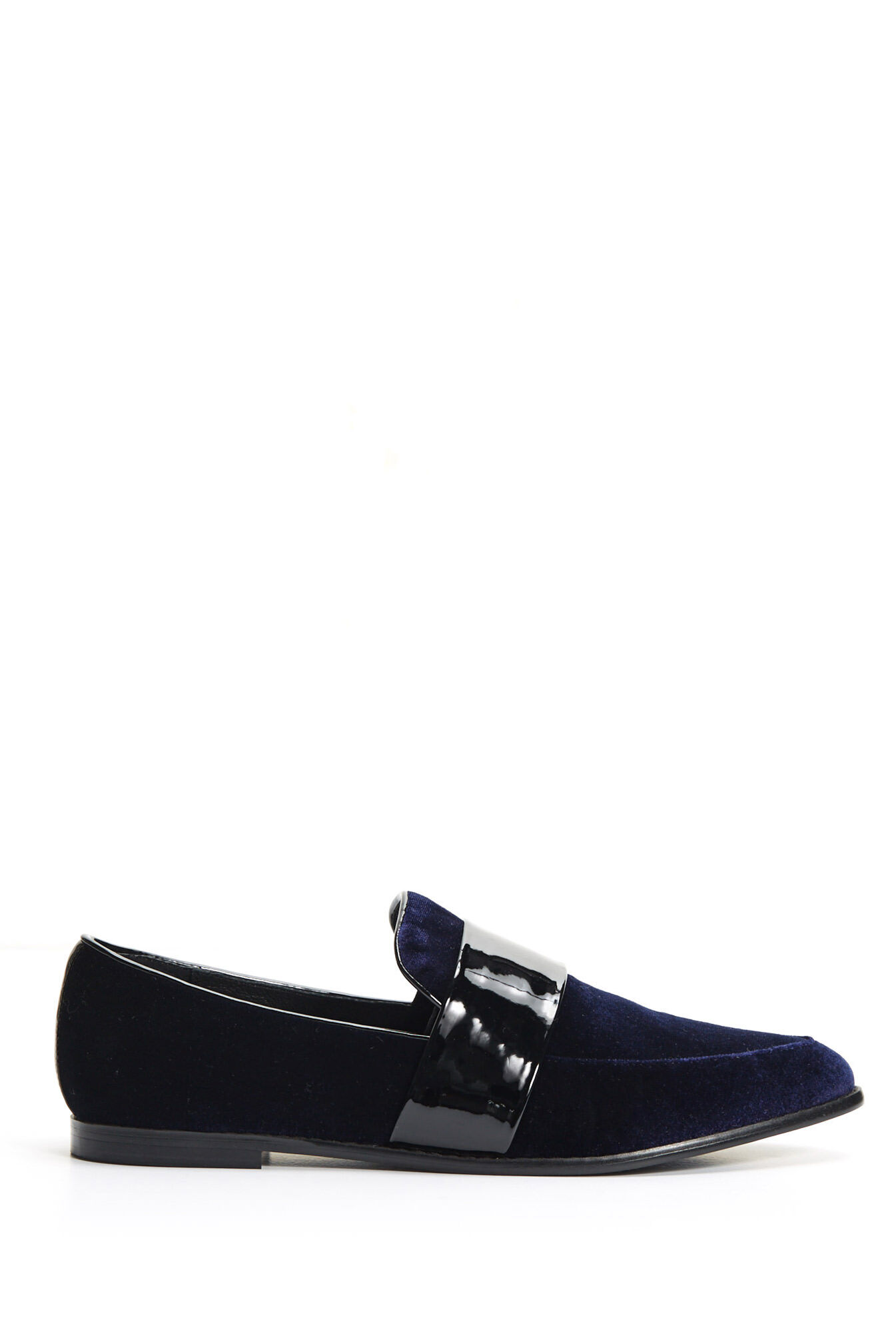 saba ashley loafernavy37