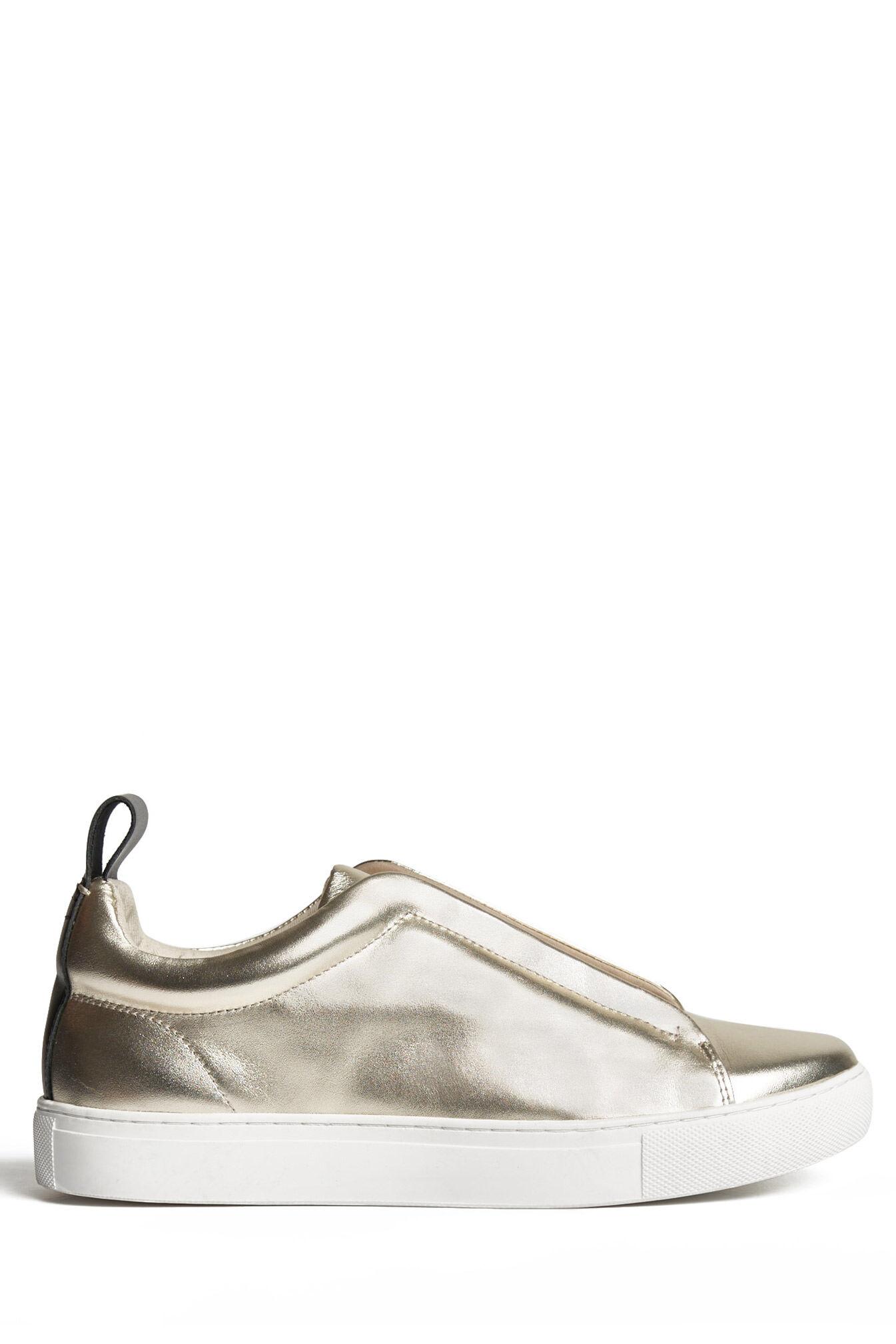 saba kelsey metallic sneakergold38