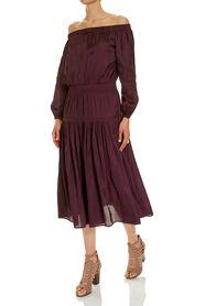 LILY OFF SHOULDER DRESS