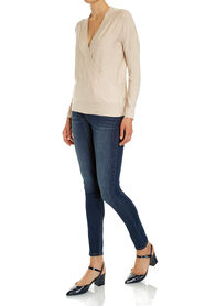 Claire Long Sleeve Wrap