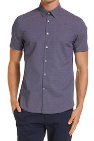Letterman Printed Short Sleeved Shirt