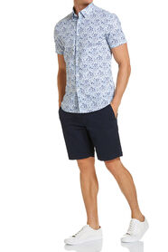 Segal Printed Short Sleeved Shirt