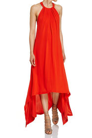 PAULA SILK DRESS