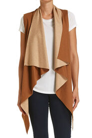 CHLOE SLEEVELESS CARDIGAN