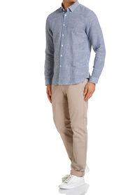 Gustav Gingham Linen Shirt