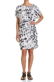 LACQUER PRINT DRESS