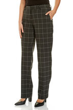 Window Check Pant
