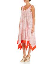 Judy Drape Hem Dress