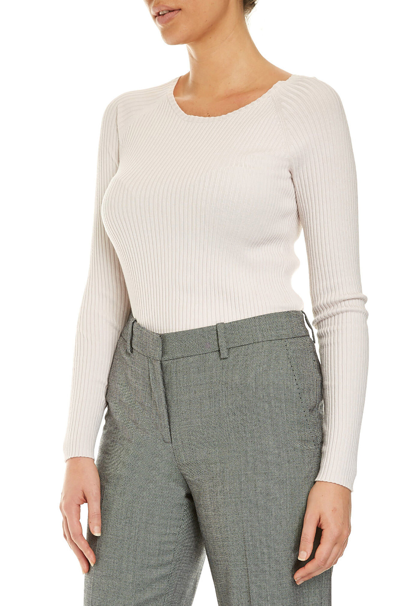 NEW-Sportscraft-WOMENS-Signature-Ribbed-Crew-Neck-Tops-amp-Blouses