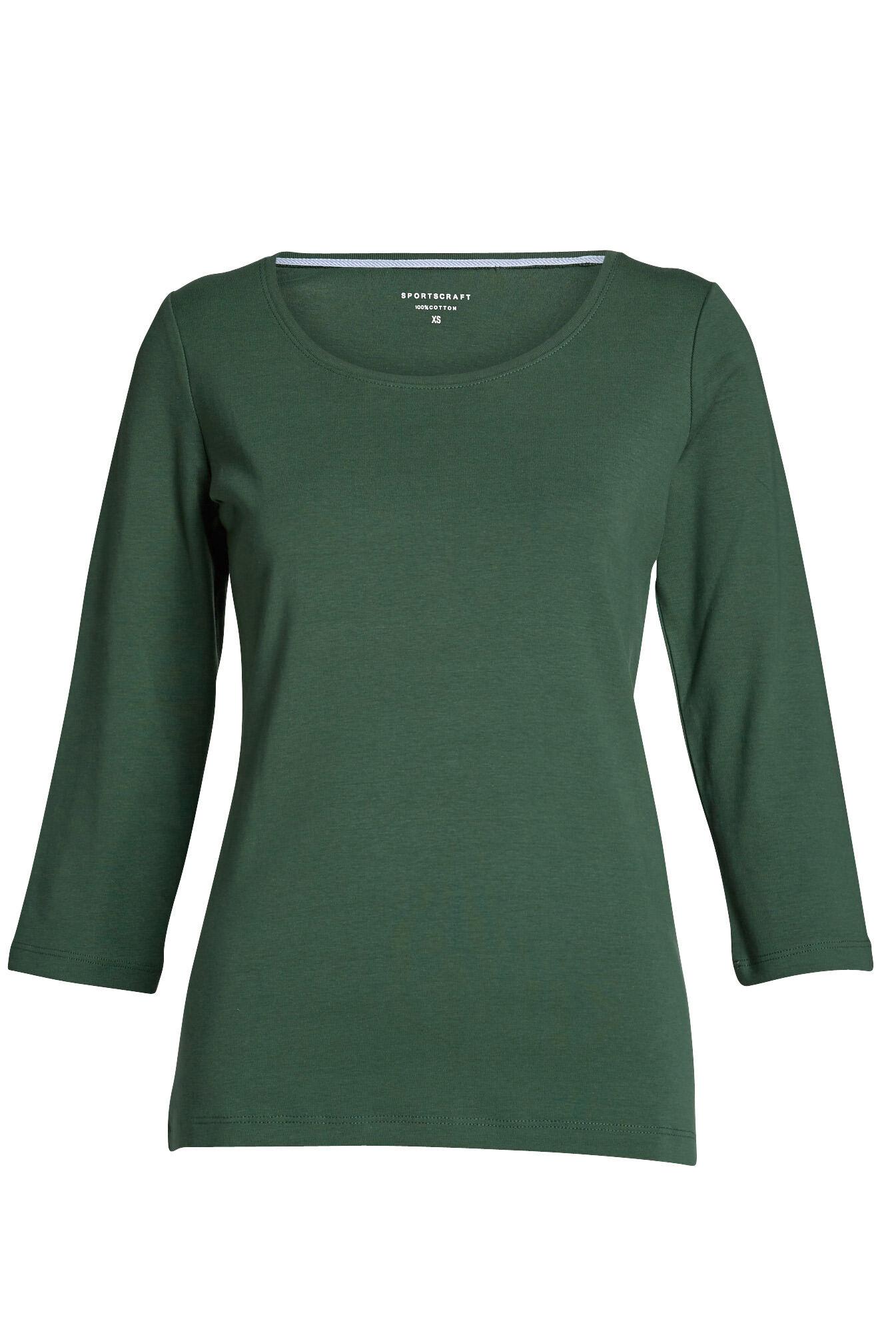NEW-Sportscraft-WOMENS-Heidi-3-4-Sleeve-Tee-Tops-amp-Blouses