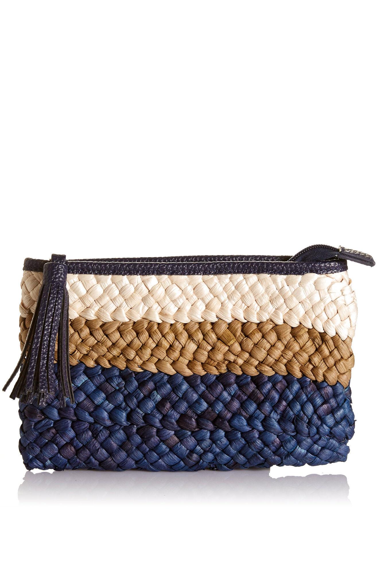 NEW-Sportscraft-WOMENS-Sandy-Woven-Pouch-Women-039-s-Bags