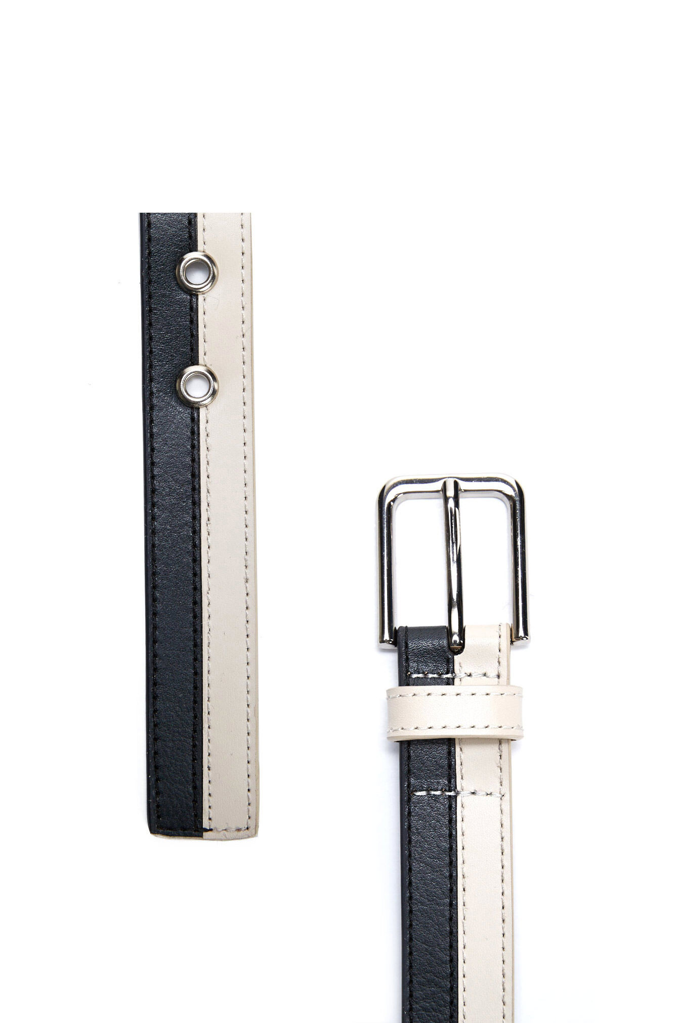 NEW-Sportscraft-WOMENS-Isabelle-Two-Tone-Belt-Belts