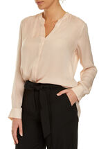 Signature Spot Silk Shirt