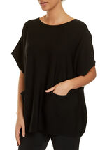 Signature Batwing Knit Top