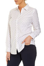 Sarah Oxford Print Shirt