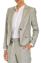 Textured Suit Jacket