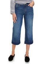 Riley Denim Cropped Jean