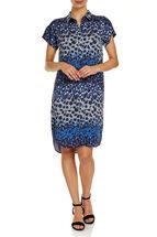 Donna Printed Tencel Dress