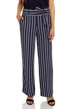 Elain Wide Leg Stripe Pant