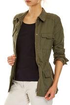 Deborah Linen Jacket