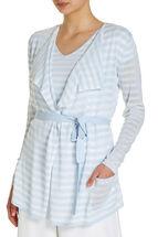 Stripe Knit Cardi