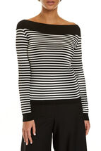 Signature Long Sleeve Boatneck Top
