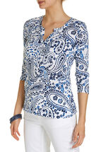 Shannon Printed Henley