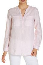 Sonya Textured Linen Shirt
