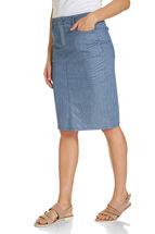 Cleo Ticking Stripe Skirt