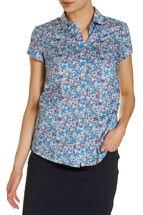 Vicky Liberty Cap Sleeve Shirt