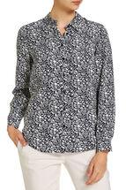 Indie Printed Silk Shirt