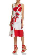 Sunset Floral Print Dress