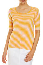 Heidi 1/2 Sleeve Stripe